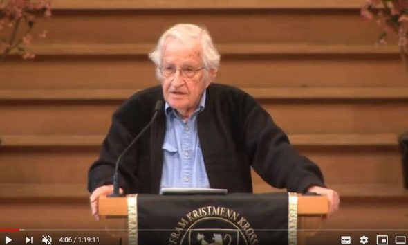 Noam Chomsky Speech